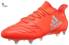 adidas X 16.1 SG Leather - Bottes de football pour Homme, Rouge , Taille: 47 1/3 - Chaussures adidas (*Partner-Link)