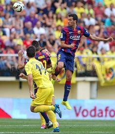 Busquets - Vila-real - FC Barcelona (0-1)   FC Barcelona