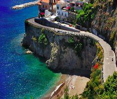 Sunday Drive: Scenic Road, Amalfi Coast, Italy