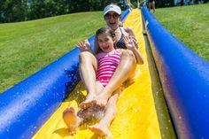 Visiting day fun at Camp Schodack