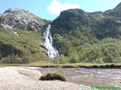 Steall Falls. I don't know this one.
