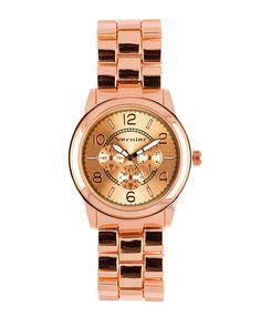 The Boyfriend Blush Watch by JewelMint.com, $39.99