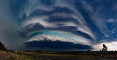 Thunderstorm in Australia