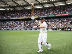David Warner was keen to be at the fore of a strong reply.