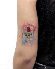 enchanted rose tattoo © Deborah Genchi