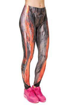 Hot Lava Leggings | $22.95 at OnlyLeggings.com #OnlyLeggings