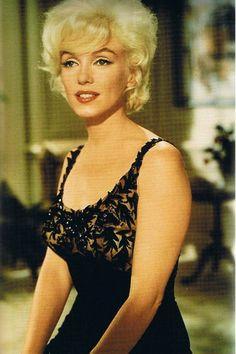 "Marilyn Monroe In The Movie ""LET'S MAKE LOVE. """