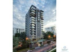 Apartamentos de 1, 2 y 3 habitaciones. Desde US$ 98,000.00 Es una torre moderna, ubicada en el exclusivo sector de Naco. Santo Domingo, República Dominicana, el proyecto está a dos y tres esquina de los principales centros co
