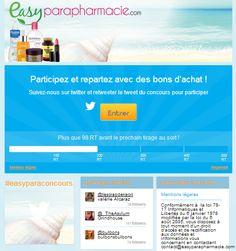 Easyparapharmacie - Retweet Contest - Twitter #Socialshaker