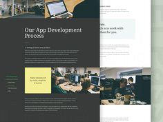 El Passion 4.0 (How we work page) by Konrad Księżopolski
