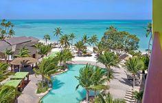 Perfect blues at Holiday Inn Resort Aruba!