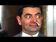 Pinned onto Entertainment Board in Everything Category Bean The Movie, Mr Bean Drôle, Mr Bean Cartoon, Mr Bean Funny, Funny Clips, Beans, Hilarious, Celebs, Actors