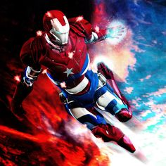 Iron Patriot  | iron-patriot_by_6and6-d3e9r28
