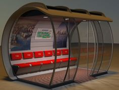 cool bus shelters - Google Search …                                                                                                                                                                                 More
