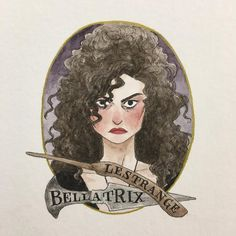 1,548 отметок «Нравится», 20 комментариев — Melody Howe (@theimaginativeillustrator) в Instagram: «Bellatrix! It's a day late again, but to be fair I stay up late to finish these -- doing these…»