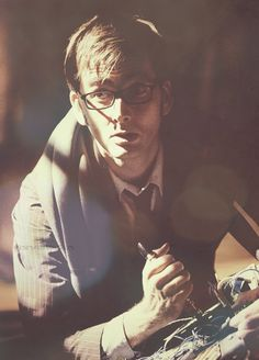 David Tennant Doctor Who David Tennant, Doctor Who 10, 10th Doctor, Don't Blink, Torchwood, Bad Wolf, Matt Smith, Time Lords, Dr Who