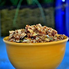 10 Perfectly Portable Snacks Packed With Protein: Protein-Packed Nutty Granola http://www.prevention.com/food/healthy-eating-tips/portable-high-protein-snack-recipes?s=3&?adbid=10152798076881469&adbpl=fb&adbpr=87494991468&cid=socFO_20141106_35096747