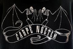 Carpe Noctem Hoodie by CallousCrow on Etsy