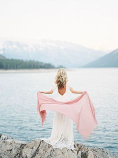 A Mountaintop Inspiration for the Adventurous Bride - Street Style