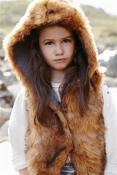 2eb9463b4f653 Buy Ginger Faux Fur Gilet (3-16yrs) from the Next UK online shop