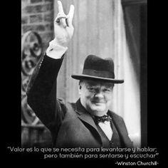 Winston Churchill y la #frase del día