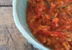 Deliciosa salsa de tomates casera - blovver
