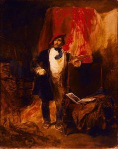 Portrait of József Borsos  Artist:August von Pettenkofen (Vienna 1822 – 1889 Vienna)  Szépművészeti Múzeum - Gyujtemenyi kereső angol - Artwork
