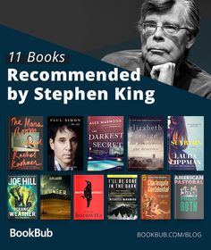 11 books recommended by Stephen King. If you're looking for books like Stephen King, check out this list of thrillers. Book Club Books, Book Lists, The Book, Stephen King Books, Stephen Kings, Best Books To Read, Good Books, Stephen King Tattoos, Crime Books