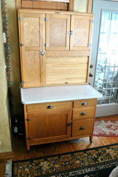 Beau Antique Hoosier Cabinet, Dutch Kitchen, Nappanee, In #Dutch