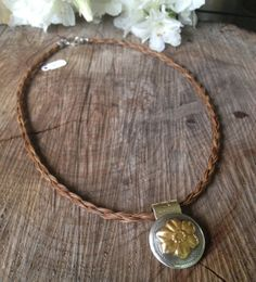 Handmade Horsehair Necklace by braidedtails on Etsy, $40.00