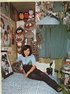 田中好子 Showa Period, Nostalgic Images, Loft Room, Cute House, Environment Design, Japanese Artists, Kawaii, Poses, Retro