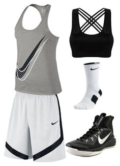 Basketball by ljlovebasketball on Polyvore featuring NIKE