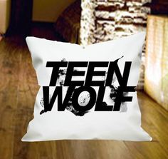Teen Wolf Pillow Cover by wongsshop by wongsshop on Etsy, $14.00
