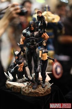 X-Force statue from Sideshow Collectibles