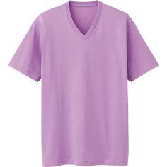 MEN DRY PACKAGED V NECK SHORT SLEEVE T-SHIRT Uniqlo Men, V Neck T Shirt, My Style, Sleeve, Shirts, Clothes, Tops, Women, Fashion