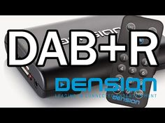Dension DAB+R Receiver is the solution for receiving DAB in the car