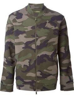VALENTINO | camouflage bomber jacket #valentino #camo #bomber perfection.  Xx E