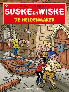 Suske en Wiske 338 - De heldenmaker  https://www.suskeenwiskeshop.com/hoofdreeks/suske-en-wiske-338-de-heldenmaker