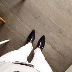vecchie scarpe, nuova moda: è tornata la punta!!