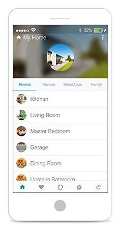 Samsung SmartThings Hub 2nd Generation - - Amazon.com Best Smart Home Smart