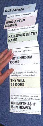 "Use version: debts, long versions, defined, student-size Foldable ""Our Father"" prayer Sunday School Kids, Sunday School Activities, Bible Activities, Sunday School Lessons, Sunday School Crafts, Children Activities, School Staff, Bible Lessons For Kids, Bible For Kids"
