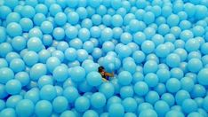 Massive Balloon-Filled Rooms - The Half the Air in a Given Space Installation is Utterly Playful (GALLERY)