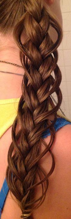 Feather Loop Braid Hairstyle Tutorial!