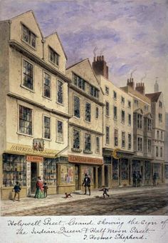 The Secret History of Holywell Street: Home to Victorian London's Dirty Book Trade – The Public Domain Review