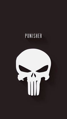 Marvel Movies Wallpaper for iPhone from Uploaded by user Justiceiro The Punisher, Punisher Logo, Marvel Vs, Marvel Dc Comics, Marvel Heroes, Comic Book Characters, Comic Character, Logo Super Heros, Hero Logo
