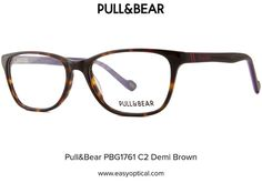 Pull&Bear PBG1761 C2 Demi Brown Eyewear, Bear, Glasses, Brown, Eyeglasses, Eyeglasses, Bears, Brown Colors, Sunglasses