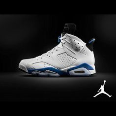 55c6fac8971f4a Release Date Air Jordan 6 Retro White Sport Blue-Black