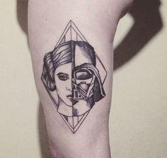 24 inspirações de tatuagens para quem é fã do Star Wars
