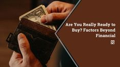 """Are You Really Ready to Buy? Factors Beyond Financial. """"Think of buying a house a little like getting a tattoo. Home Buying Tips, Buying Your First Home, Dallas Real Estate, Real Estate News, Home Design Diy, Real Estate Information, First Time Home Buyers, Home Ownership"""
