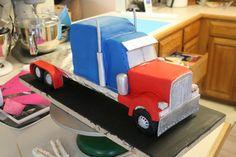 Under Construction: Semi truck